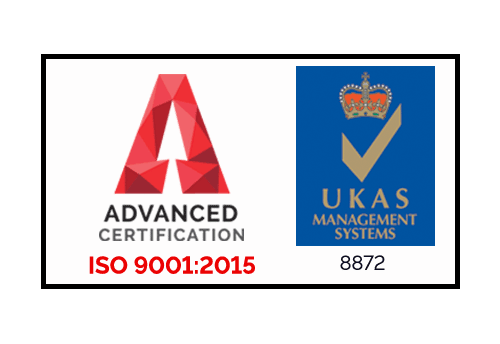 ISO 9001 2015 Accreditation