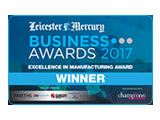 Leicester Mercury Business Awards Winner 2017 JC Metalworks