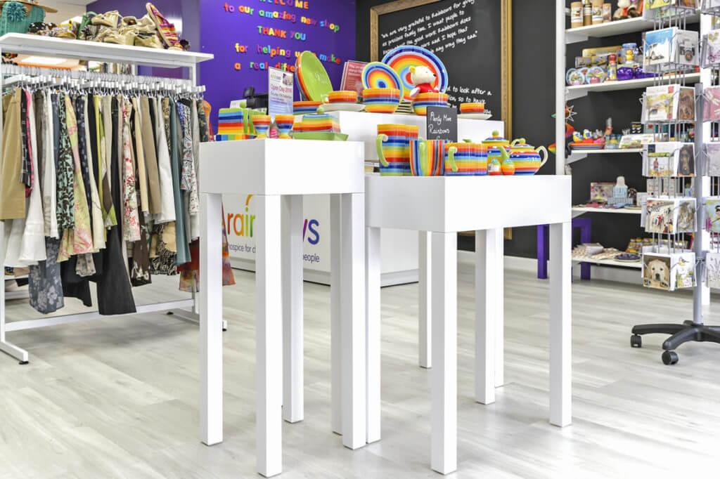 Retail Display Shelving Unit Manufacturer - JC Metalworks Loughborough
