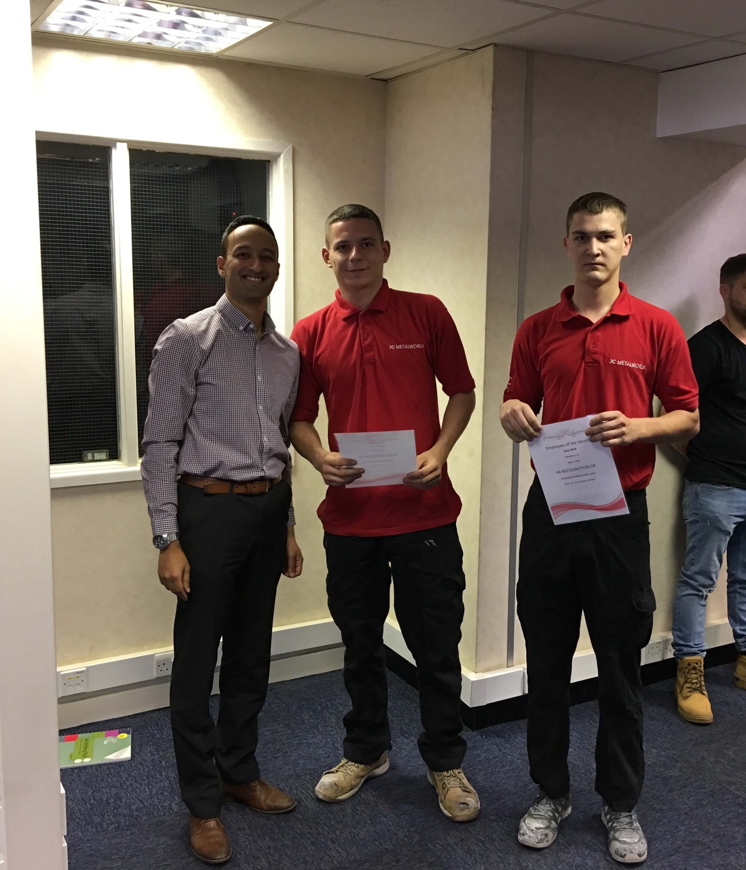 Employees of the Month – May 2018