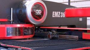 Amada EMZ3610 CNC Turret Punch
