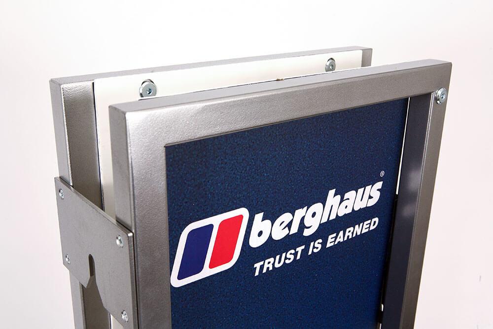 retail display unit for Berghaus product display