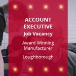 JC Metalworks Loughborough Metal Manufacturing Account Executive Job Vacancy Graphic