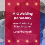 MiG Welding Job Vacancy
