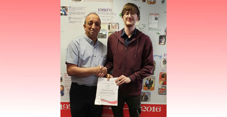 Employee of the Month - April 2019