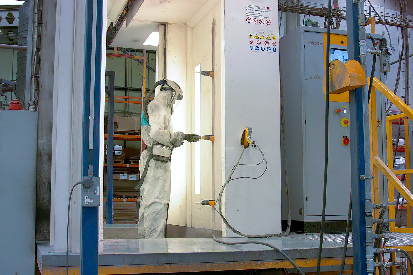 ITW Gema Powder Coating System