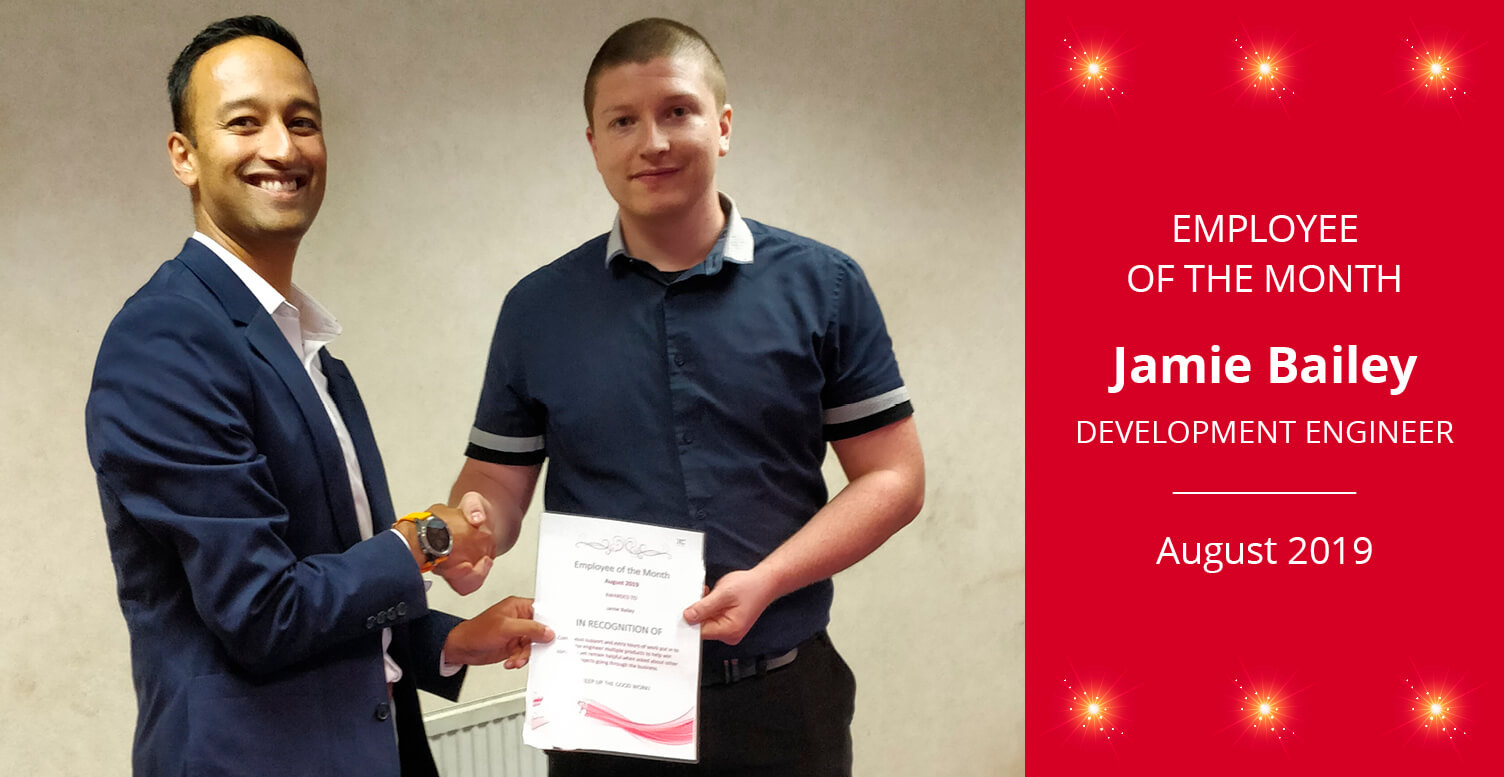 Employee of the Month - August 2019