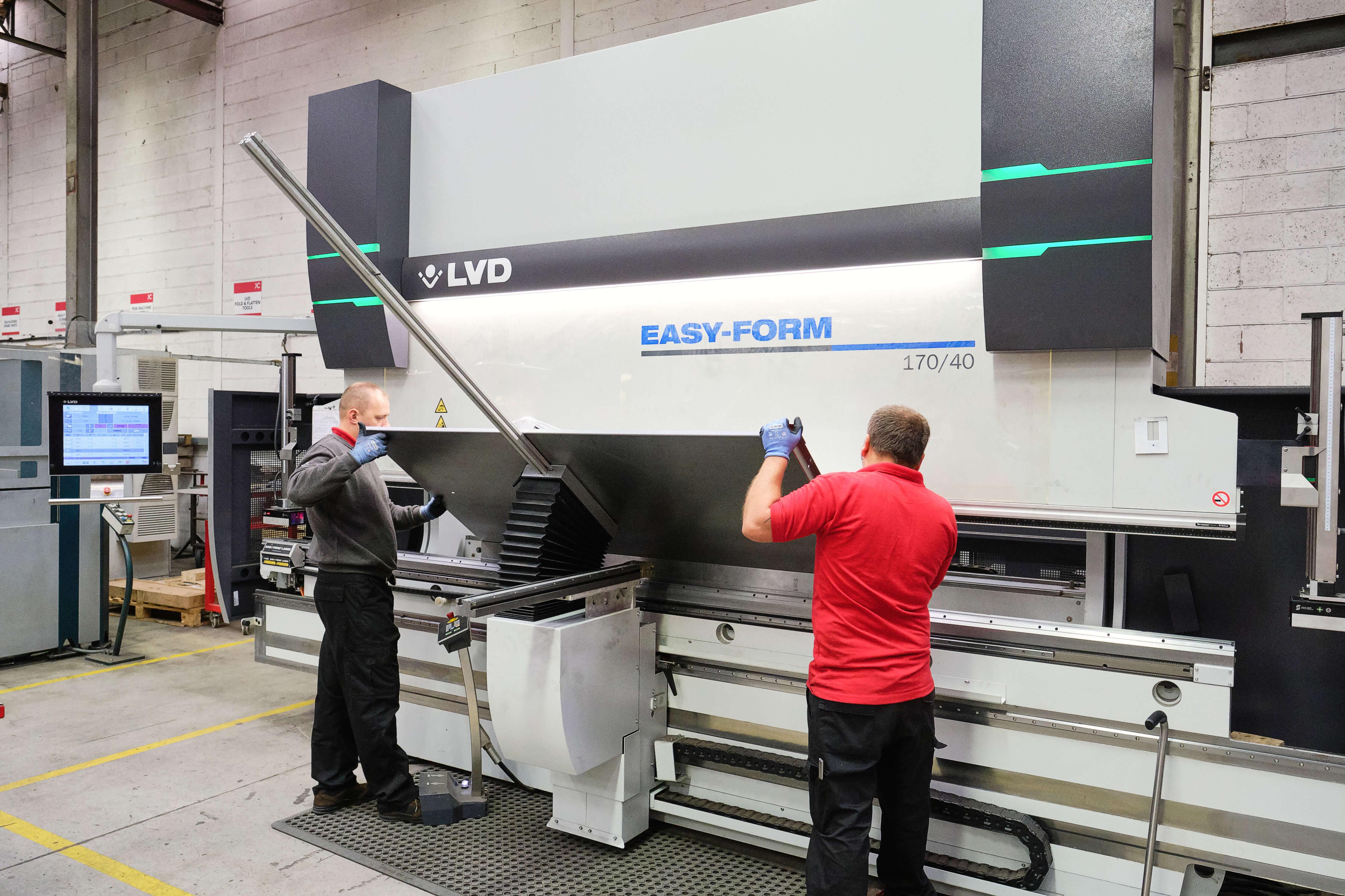 4 Meter LVD Easy-FormR Series Ultimate Bending Machine - JC Metalworks