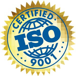 YES! We've been ISO 9001 and ISO 14001 Re-certified