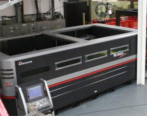Amada FOL3015 AJ Fibre Laser Cutter