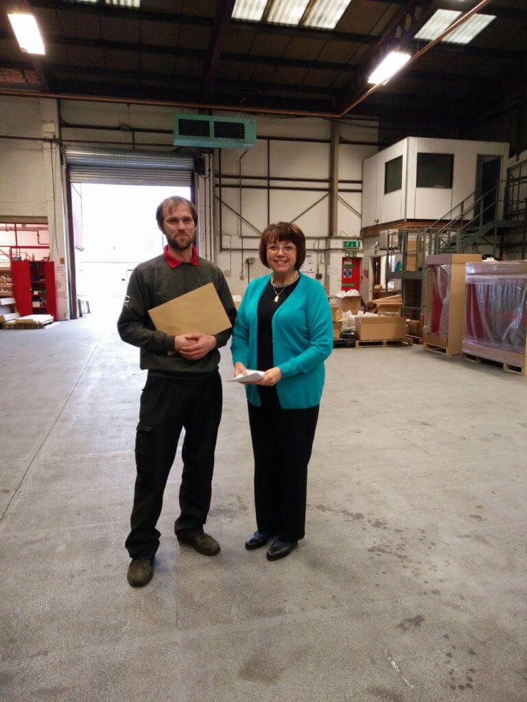 November 2015 Employee Of The Month Jc Metalworks